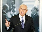 Il premier israeliano Benyamin Netanyahu avrebbe la maggioranza relativa alla Knesset (Afp)
