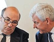 Fabrizio Viola e Alessandro Profumo (Imagoeconomica)