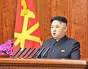 Il leader nordcoreano Kim Jong Un (Epa)