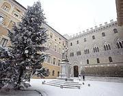 Rocca Salimbeni, sede del Montepaschi a Siena
