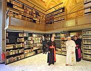 La Biblioteca Apostolica Vaticana (Ansa)