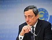 Mario Draghi, presidente della Bce (Imagoeconomica)