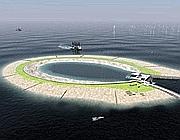 Il progetto dell'isola artificiale nel mare del Nord