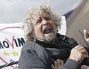 Beppe Grillo, padre putativo del Movimento 5 Stelle (Lapresse)