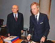 Da sinistra, Giampiero  e Carlo Pesenti (Imago)