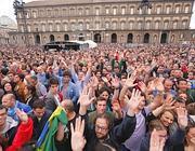 I fan del Boss in piazza Plebiscito