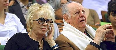 Franca Rame e Dario Fo (Lapresse)