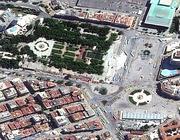 La veduta aerea di Piazza Taksim