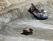 Una miniera di rame in Cile (Afp)