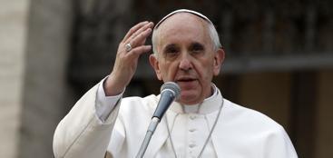 Papa Francesco (Ap/Gregorio Borgia)