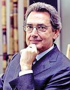 Ilpresidente di Telecom Franco Bernabè (Eidon/Frustaci)