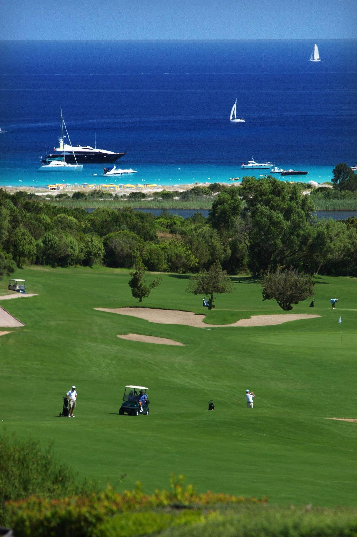 Campo da golf in Costa Smeralda