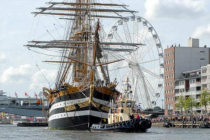 Amsterdam: il raduno dei velieri