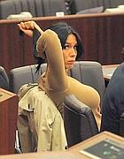 Nicole Minetti il 29 marzo in consiglio  (Corradini)