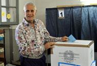 Il look da elezioni di Formigoni