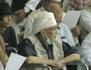 Una delle due immagini dell'attentatore di Lockerbie