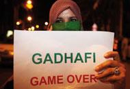 Gheddafi in un messaggio: «Morirò da martire tra il mio popolo»