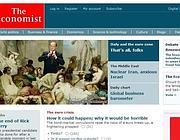 L'homepage del sito dell'Economist