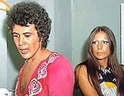 Lucio e Grazia Letizia in una foto degli anni'70
