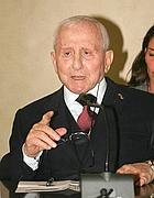 Alberto Aleotti, patron dell'industria farmaceutica Menarini (Ansa)
