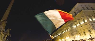 Oggi consultazioni, domani il governoDimissioni, feste e tensioni in piazza