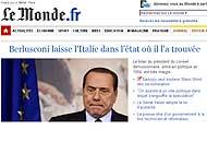 «Berlusconi: lascia l'Italia come l'ha trovata»