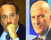 Clemente Mimun e Augusto Minzolini