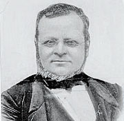 Camillo Benso conte di Cavour (1810-1861) artefice dell'Unità d'Italia. Con la politica detta del «connubio» fu il primo a creare una coalizione centrale senza alternative