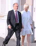 Pierfrancesco Guarguaglini e la moglie,entrambi indagati per false fatturazioni (Olycom)
