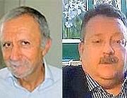 Quello vero, Franco Braga (a sinistra). L'omonimo, Francesco Braga (a destra)