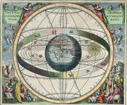 Un calendario tratto dall'opera Harmonia Macrocosmica del cartografo tedesco Andreas Cellarius L'atlante delle stelle fu pubblicato nel 1660 ad Amsterdam (foto Corbis)