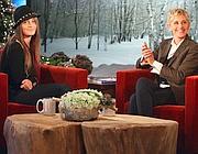 Paris Jackson allo show Ellen DeGeneres (Ap)