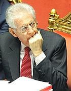 Il premier Mario Monti (Ansa)