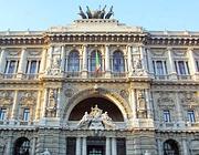 Il «palazzaccio», sede della Cassazione a Roma (Ansa)