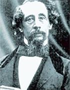 Un ritratto d'epoca di Charles Dickens