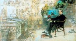 Robert William Buss, «Dickens' Dream», 1875
