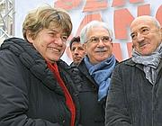 Susanna Camusso, Raffaele Bonanni, Luigi Angeletti (LaPresse)