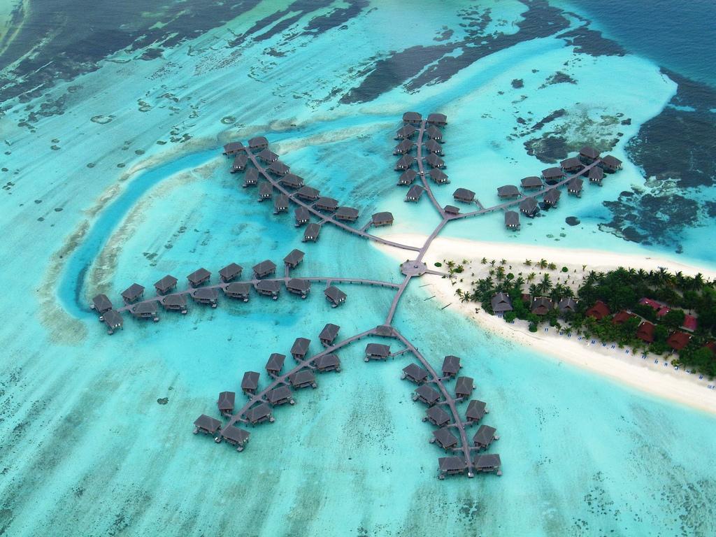 Uno degli atolli delle Maldive