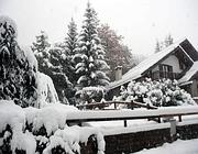 Neve a Bardonecchia (Ansa)