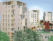 Il rendering delle torri di 9 piani con struttura in legno che sorgeranno in zona San Siro a Milano