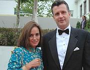 Philipp Hildebrand e la moglie Kashya (Reuters)