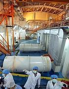 La centrale nucleare di Isfahan (Ansa)