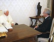 Il Papa e Mario Monti