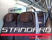 La nuova foto  per illustrare la classe Standard (www.trenitalia.com)