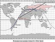 Le proiezioni di caduta per Phobos (Roscomos)