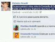 Il post di Patrizia Tievoli su Facebook