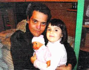 Dayana con il suo papa, Williams: entrambi sono dispersi