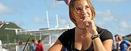 Laura Dekker ha terminato il �giro del mondo� La pi� piccola navigatrice del la Terra