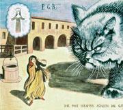 �Il Gatto Mammone�, ex voto da �I miracoli di Val Morel�