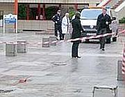Il luogo del suicidio (da «Le Parisien»)